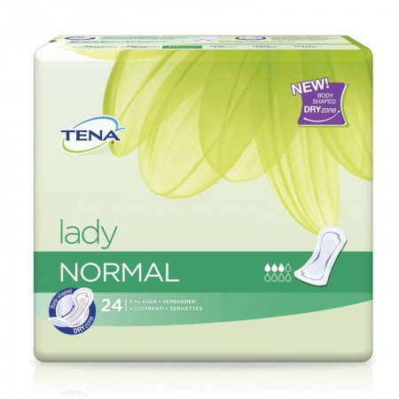 Lady Normal - 24 protections anatomiques - Tena