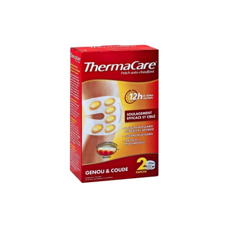Thermacare Patch Auto-Chauffant - Genou, Coude 2 Patchs - ThermaCare